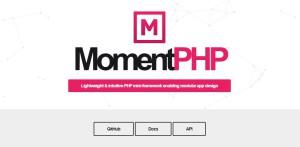 MomentPHP